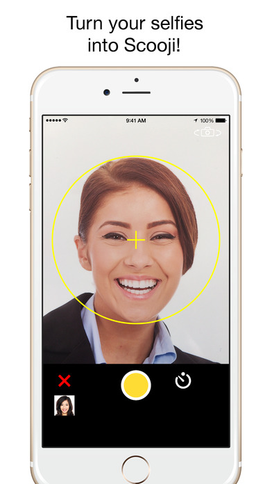 Scooji - Turn A Selfie Into an Emoji! Screenshots