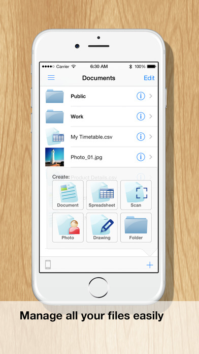 Documents (Mobile Office Suite) Screenshots