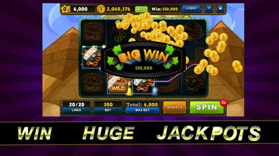 Screenshot 1 Vegas Egyptian Jackpot Slots