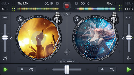 djay 2 for iPhone Screenshot
