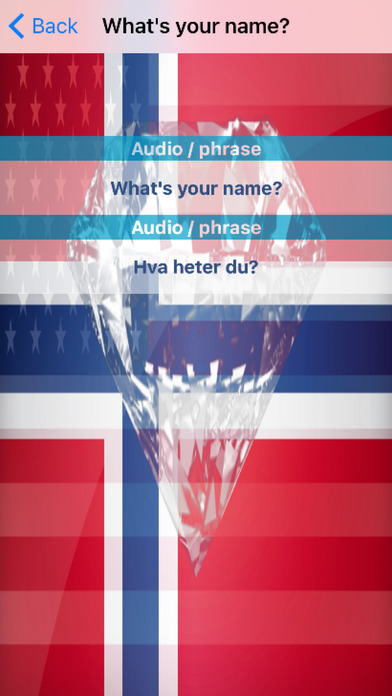 Norwegian Phrases Diamond 4K Edition screenshot 3