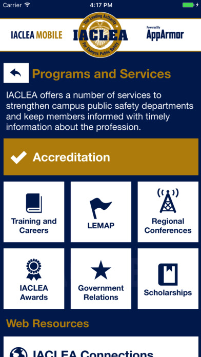IACLEA Mobile screenshot 4