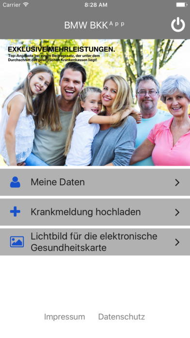 BMW BKK App screenshot