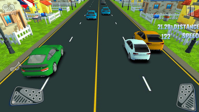 3D Storm Car Racer Street Highway Racing screenshot 1