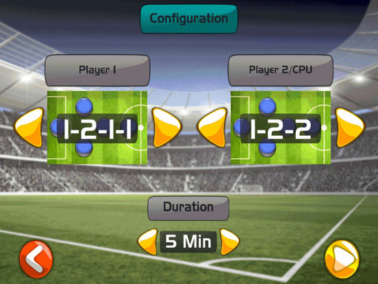 Finger Soccer Game ™ screenshot 7
