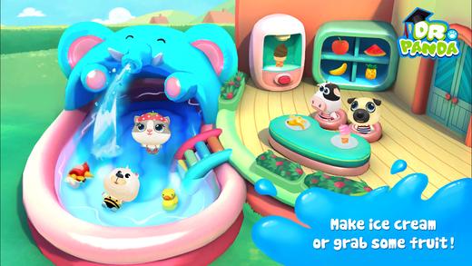 Dr. Panda Swimming Pool Screenshots
