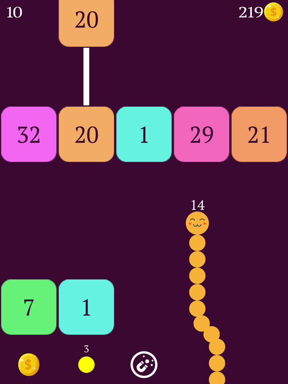 Snake vs Blocks Screenshot