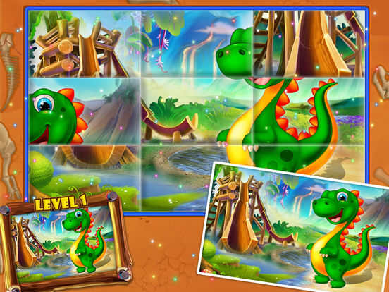 Dinosaur swap puzzle screenshot 9