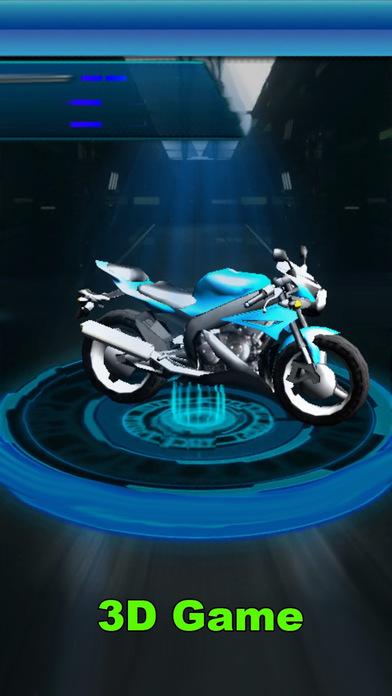 Race VIP Moto 3D Kings Driving Summer Games screenshot 2