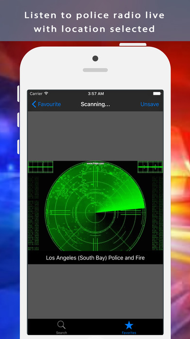 Radio Pro Police Scanner - 5000+ Extra Feeds screenshot 1