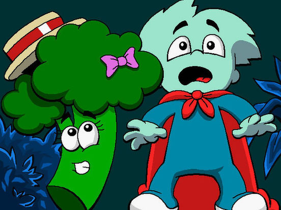 Скачать игру Pajama Sam 3: You Are What You Eat From Your Head