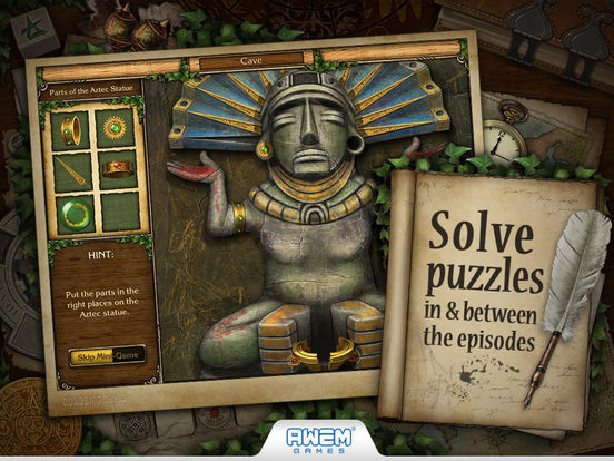 Screenshot #3 for Golden Trails 2: Hidden Object Adventure (Premium)