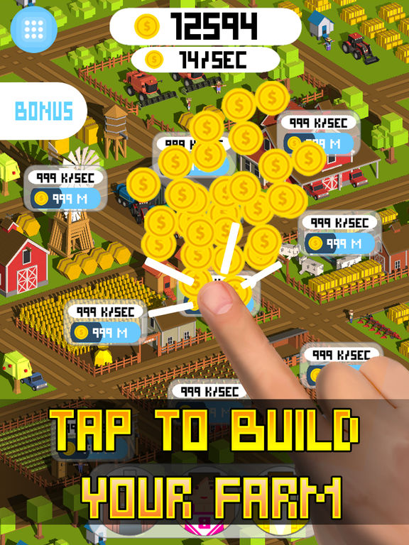 Tap Tap Farm Clicker Full Screenshots