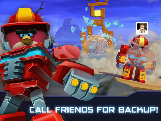 Angry Birds Transformersscreeshot 4