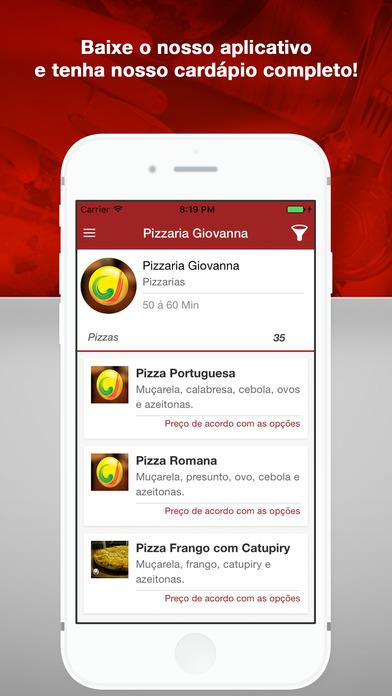 Pizzaria Giovanna - Pesqueira screenshot 1