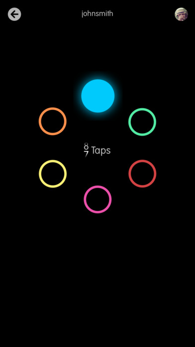 Circles Memory Game Screenshots