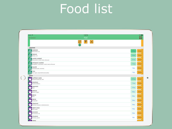 Food assistant - Nutrition guide Screenshots