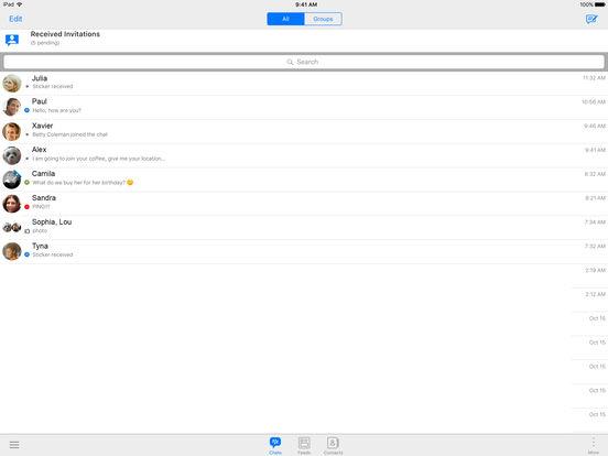 BBM Screenshots