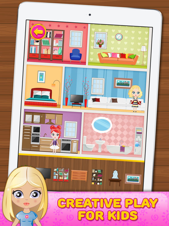 App shopper doll house decorating game games Free home decorating games