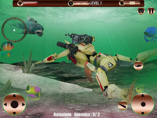 Angry Robot Shark Simulator screenshot 8