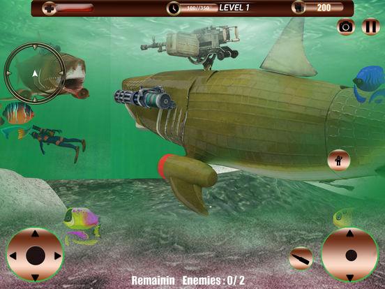 Angry Robot Shark Simulator screenshot 7