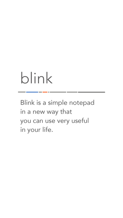 Blink - Quick Memo Screenshots
