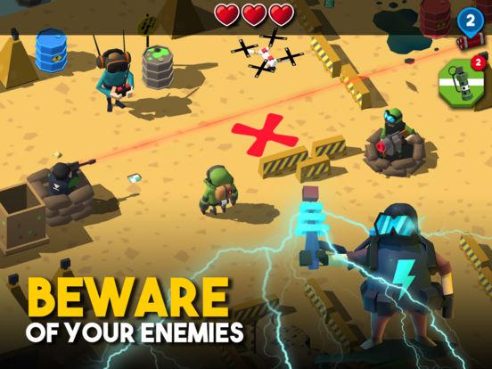 Screenshot #4 for Bomb Hunters