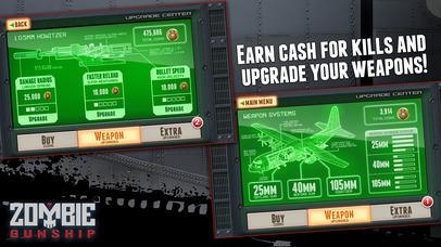 Screenshot #8 for Zombie Gunship: Gun Down Zombies