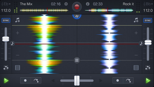 djay 2 for iPhone Screenshots