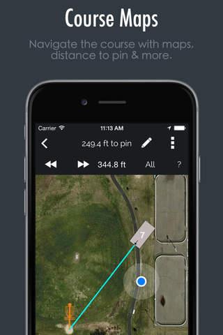 UDisc+ Disc Golf screenshot 1