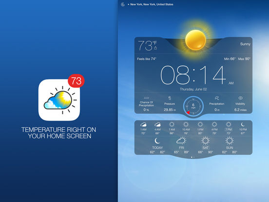 Weather Live - Weather Forecast, Radar and Alerts Screenshots