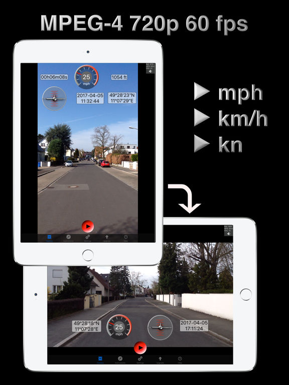 Video Overlay Action Camera Pro - Speedo, Compass Screenshots