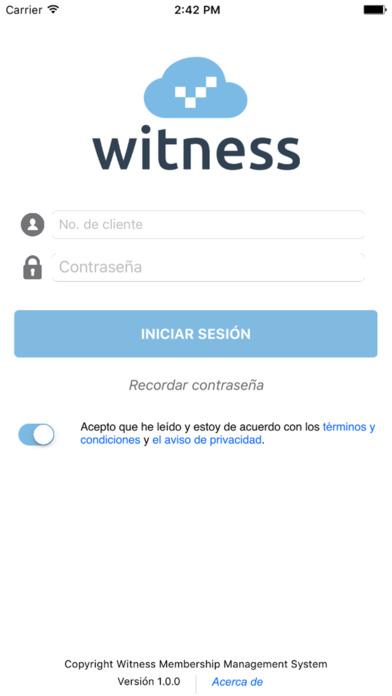 Witness MMS screenshot 2