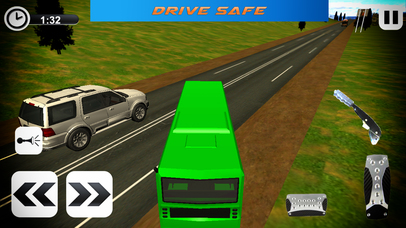 Offroad Tourist Coach Sims - Hill Station Drive screenshot 2