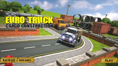 Euro truck cargo construction screenshot 3