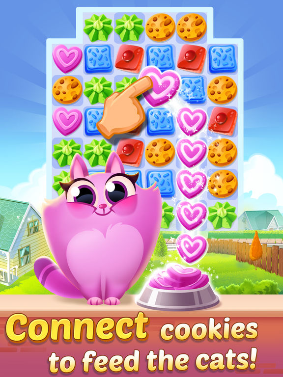 Cookie Cats - a singing puzzle adventurescreeshot 1