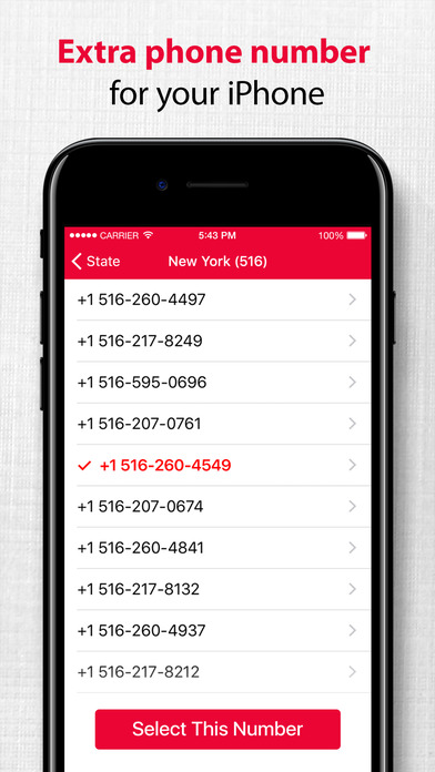 App Shopper: Second Phone Number - Private Call & Text App. (Utilities)