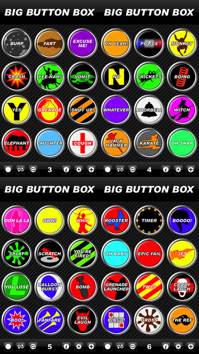 Big Button Box - funny sound effects & loud sounds screenshot 2