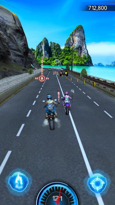 Race VIP Moto 3D Kings Driving Summer Games screenshot 3