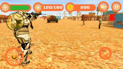 Superhero WAR: Army Counter Terrorist Attack screenshot 4