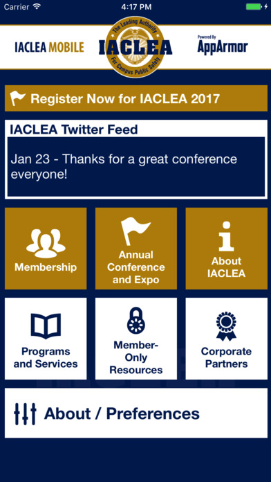 IACLEA Mobile screenshot 1