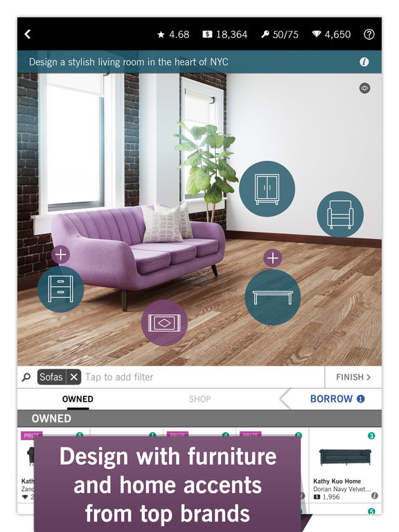 ipad screenshot 2 - Design Home