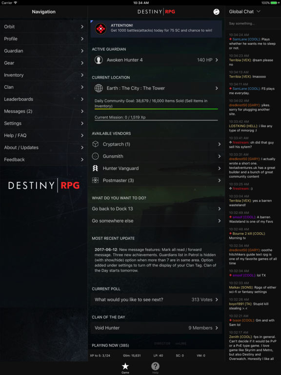 RPG for Destiny screenshot 4