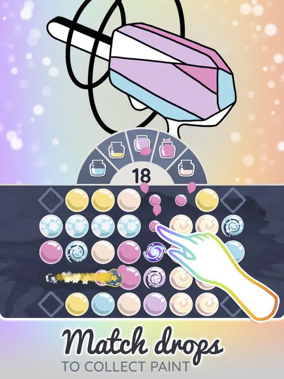 App shopper color drop match paint games for Paint color matching app