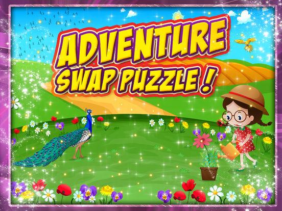 Adventure swap puzzle screenshot 6
