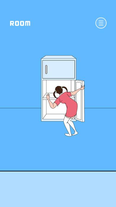 冷蔵庫のプリン食べられた - 脱出ゲーム screenshot 1