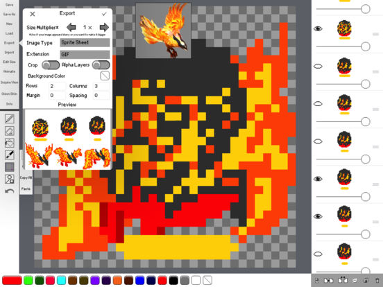 Sprite Creator - Pixel Art Maker Screenshots