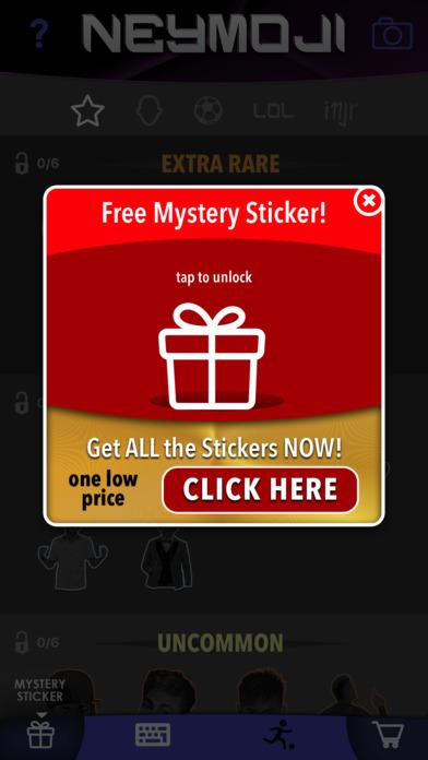 Neymoji - Official Neymar Stickers screenshot 4