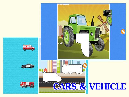 автомобиль Дети Изучение : машинки грузовики пазлы Скриншоты7