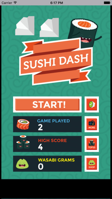 贪吃小寿司 screenshot 1